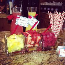 amanda u0027s baby shower mimosa bar party rockin pinterest