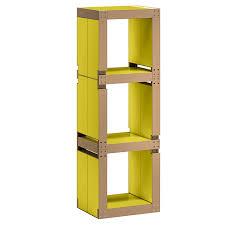 le de bureau jaune etagère de bureau design jaune structure ou bois kollori com
