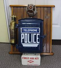 restored kellogg chicago call box telephone police fire department