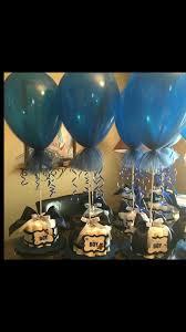 diaper cakes navy blue white u0026 gray chevron balloons wrapped in