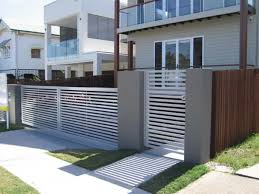 Interior Gates Home Minimalist Fence Ideas For House Gallery Also Modern Gates Fences