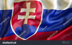 Slovak Flag Slovakia Flag 3d Waving Flag Design Stock Illustration 631599842
