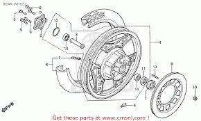 honda cx500t turbo 1982 c switzerland rear wheel schematic