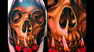 domo tattoos 15 dramatic candle tattoos youtube