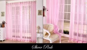 Sheer Pink Curtains Curtain Ideas For Love Month Seventh Bliss