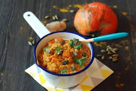 comment cuisiner le potimarron curry de potimarron aux lentilles corail veggie goût de food
