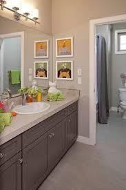 Kids Bathroom Colors Boy U0026 Shared Bathroom Neutral With Pops Of Color Designed
