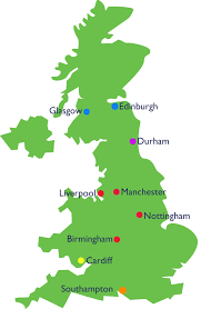 Southampton England Map by Around Britain Safe Families For Children