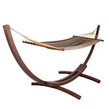 hammocks 12 feet wood arc hammock stand and hammock