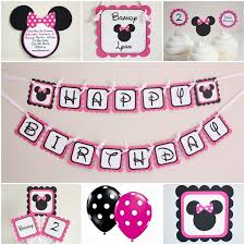 Pink And Black Minnie Mouse Decorations 58 Best Inspiration Minnie Mouse Roller Disco Party Images On