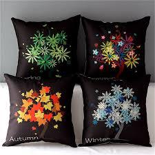 Home Decor Throw Pillows by Online Get Cheap Charcoal Throw Pillows Aliexpress Com Alibaba