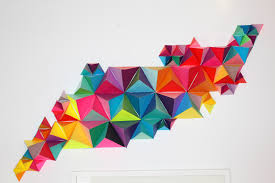 3d geometric wall sculpture sm make diy projects and ideas for