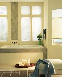 room focus bathroom window treatments