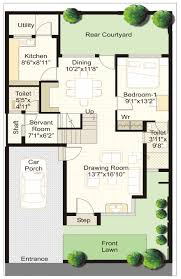 Townhome Plans Awesome Row House Plan Layout Contemporary Best Image Engine