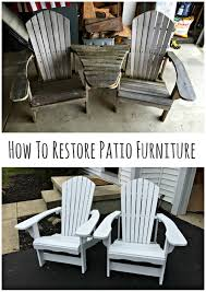 How To Build Patio Chairs by How To Restore Patio Furniture U2014 Revival Woodworks