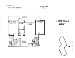 hamptons west aventura floor plans