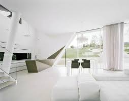 Best Futuristic Villa Design In Sculptural Architecture And - Simple and modern interior design