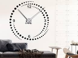 wandtattoo designer uhr wirbel wanduhr clocks wall clocks and walls