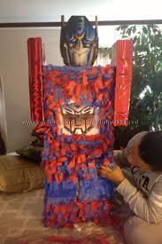 optimus prime pinata transformers optimus prime piñata small box scissors streamer or