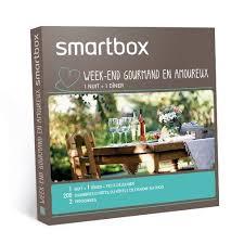 coffret smartbox table et chambre d hote smartbox coffret week end gourmand en amoureux achat vente