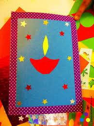 diwali card making