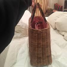 kate spade kate spade wicker bag from zana u0027s closet on poshmark