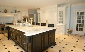 hand painted kitchen islands hand painted kitchen traditional kitchen new york within custom