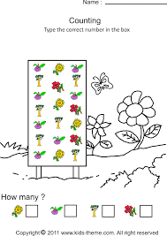 counting objects to 10 worksheets