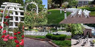 wedding backdrop garden weddings ceremonies events luther burbank home gardens