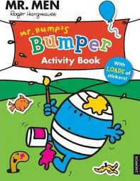 men bump u0027s bumper activity book 9781405267892