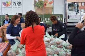 free thanksgiving turkey give away richmond families get help putting food on the thanksgiving table