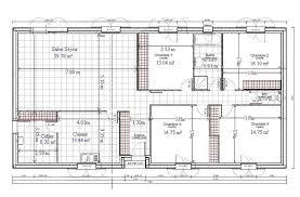 plan 4 chambres plain pied plan maison plein pied gratuit 4 chambres 10 de plain 100m2 6 scarr co