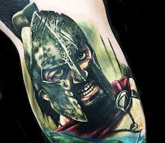 king leonidas tattoo by alex rattray ink photo no 14093