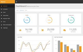 37 best free admin dashboard template as of 2017 uxart