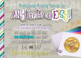 Invitation Printing Services Professional Printing Service Invitation Prints By Designtrunkinc