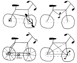 how to draw bicycle bicycle model ideas