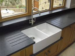 Acrylic Kitchen Sink by Sinks Classic Cottage Kitchen With Black Acrylic Divided Kitchen