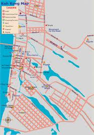 Map Of Cambodia Koh Kong Cambodia City Tourist Map Koh Kong Cambodia U2022 Mappery