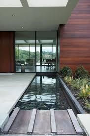 exterior design cozy landscape design ideas with glass door and