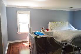 black pepper in the boudoir trying a rich blue paint color