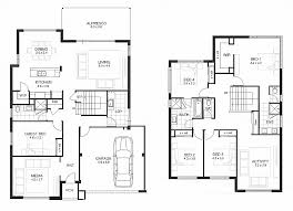 simple 5 bedroom house plans house plan lovely four bedroom double storey house plan 3 bedroom