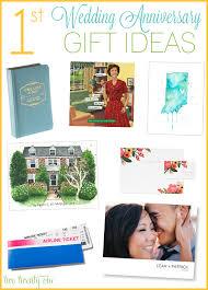 one year wedding anniversary gift 1st wedding anniversary gift ideas paper gift ideas