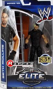 wwe seth rollins elite 25 toy wrestling action figure