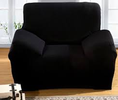 Black Sofa Slipcover Plain Black Sofa Cover U2013 Jf Chair Covers