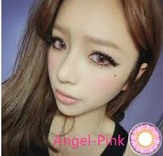 quality yearly angel contacts cheap colored cosmetic contact