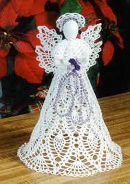 Christmas Angel Decorations Pinterest by Crochet Christmas Angel Ornament Pattern Free Crochet Patterns