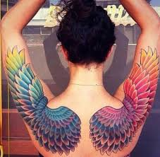101 best angel wings tattoos u0026 designs