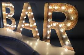 large light up letters marquee light up letters retro letters vintage signs
