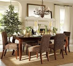 Christmas Dining Room Decorations - astonishing decorate room ideas for small house with open floor