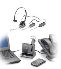 bluetooth adapter for desk phone savi w740 wireless headset triple play works with desk phone cell